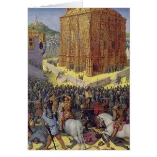 The Siege of Jerusalem by Nebuchadnezzar Card