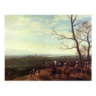 The Siege Of Kosel Postcard