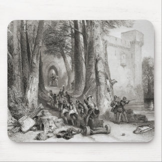 The Siege of Lathom House Mouse Pad
