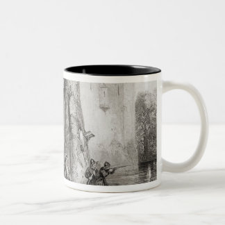 The Siege of Lathom House Two-Tone Coffee Mug