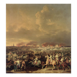 The Siege of Lille by Albert de Saxe-Tachen Print