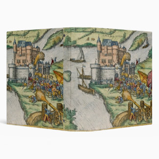 The Siege of Louvain and the Heroism of Harman Reu 3 Ring Binder