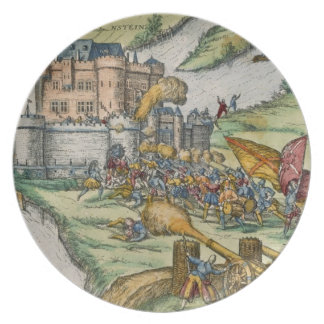 The Siege of Louvain and the Heroism of Harman Reu Dinner Plate