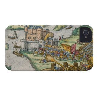 The Siege of Louvain and the Heroism of Harman Reu iPhone 4 Covers