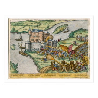 The Siege of Louvain and the Heroism of Harman Reu Postcard