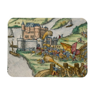 The Siege of Louvain and the Heroism of Harman Reu Rectangular Photo Magnet