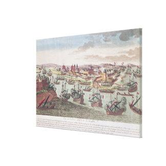 The Siege of Malta, 12th June 1798 Canvas Print