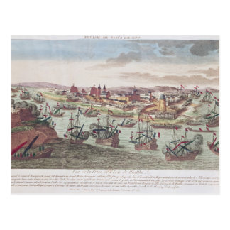 The Siege of Malta, 12th June 1798 Postcard