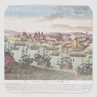 The Siege of Malta, 12th June 1798 Square Sticker