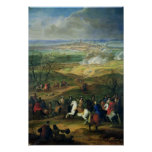 The Siege of Mons by Louis XIV  9th April 1691 Poster