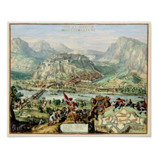 The Siege of Montesmeliano 1675 Poster
