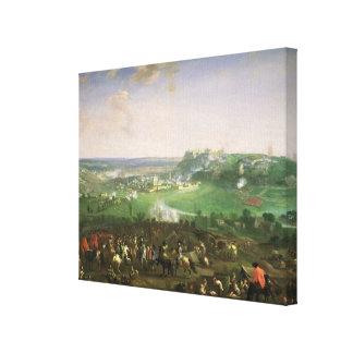 The Siege of Namur, 1659 Canvas Print