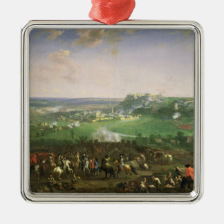 The Siege of Namur, 1659 Metal Ornament