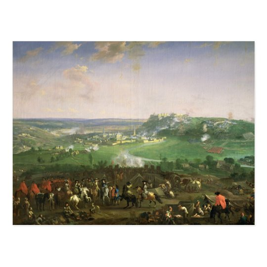 The Siege of Namur, 1659 Postcard