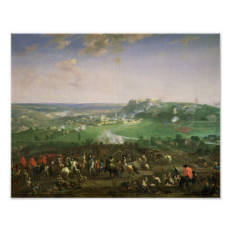 The Siege of Namur, 1659 Poster