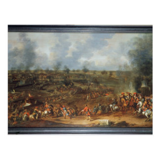 The Siege of Namur, 1692, 18th century Postcard