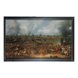 The Siege of Namur, 1692, 18th century Poster