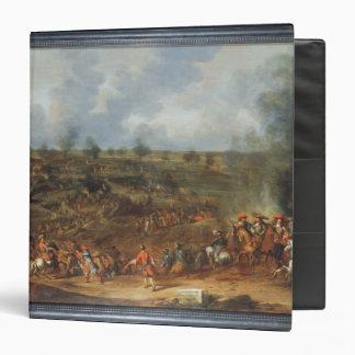The Siege of Namur, 1692, 18th century Vinyl Binder