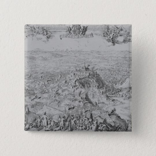 The Siege of Namur, 1695 Pinback Button