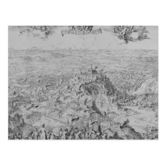 The Siege of Namur, 1695 Postcard