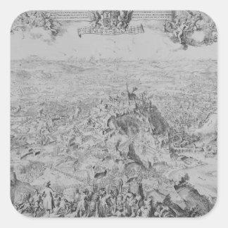 The Siege of Namur, 1695 Square Sticker