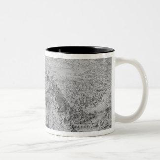 The Siege of Namur, 1695 Two-Tone Coffee Mug