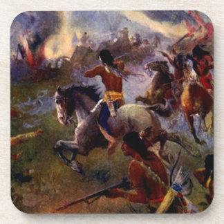 The Siege of New Ulm Drink Coasters