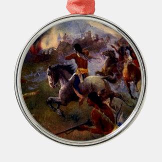 The Siege of New Ulm Metal Ornament