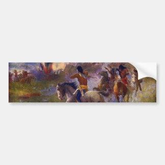 The Siege of New Ulm Minnesota from the Dakota War Bumper Sticker