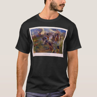 The Siege of New Ulm Minnesota from the Dakota War T-Shirt