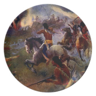 The Siege of New Ulm Plate