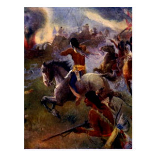 The Siege of New Ulm Postcard
