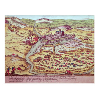 The Siege of St. Quentin, 27th July 1557 Postcard