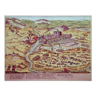The Siege of St. Quentin, 27th July 1557 Poster