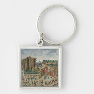 The Siege of the Bastille, 1789 Keychain
