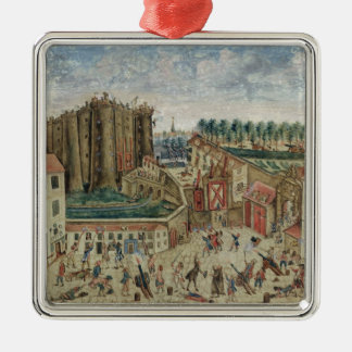 The Siege of the Bastille, 1789 Metal Ornament