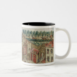 The Siege of the Bastille, 1789 Two-Tone Coffee Mug