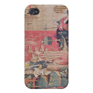 The Siege of the Town iPhone 4 Cover