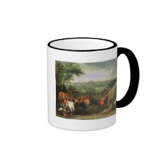 The Siege of Tournai by Louis XIV Ringer Mug