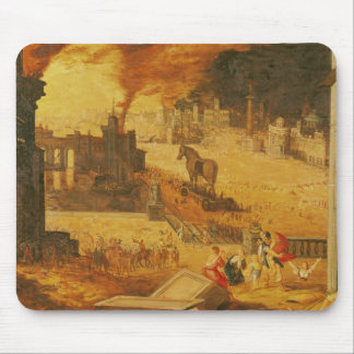 The Siege of Troy Mouse Pad