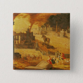 The Siege of Troy Pinback Button