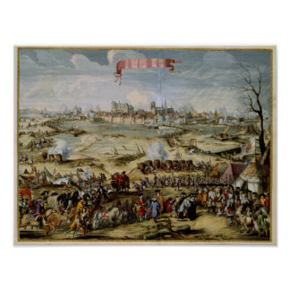 The Siege of Wismar Germany Poster