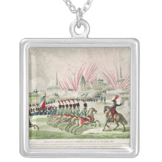 The Siege of Zaragoza Silver Plated Necklace