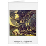 The Siegfried And The Rhine Maidens Greeting Card