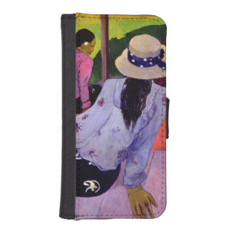 The Siesta, 1891-2 (oil on canvas) Wallet Phone Case For iPhone SE/5/5s