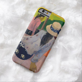 The Siesta by Paul Gauguin Tahitian Women Tahiti Barely There iPhone 6 Case