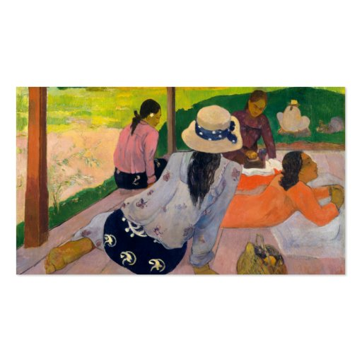 The Siesta - Paul Gauguin Double-Sided Standard Business Cards (Pack Of 100)
