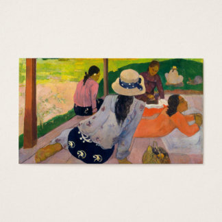 The Siesta - Paul Gauguin Business Card