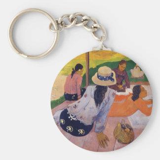 'The Siesta' - Paul Gauguin Keychain