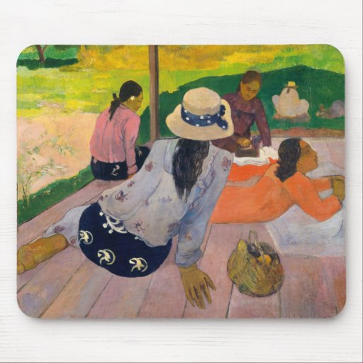 The Siesta - Paul Gauguin Mousepad